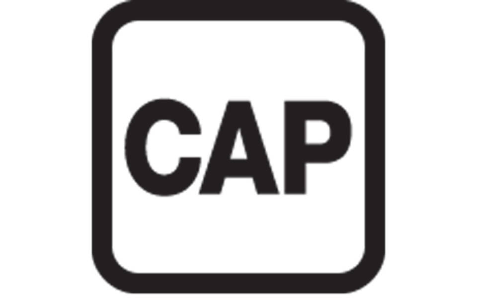 Captioned Performance logo