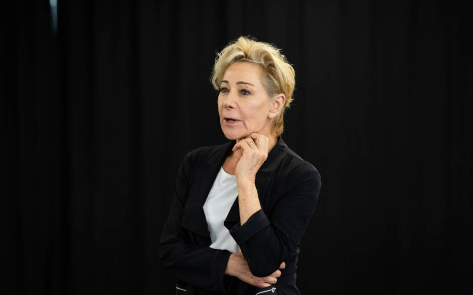 Zoë Wanamaker. Photos by Helen Maybanks.