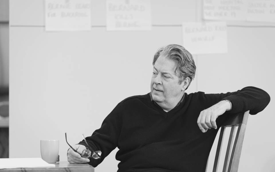 Roger Allam – Rehearsal photos by Johan Persson